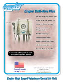 Drill-Aire Plus High Speed Veterinary Dental Air Unit